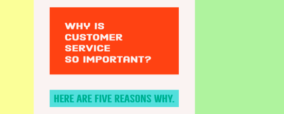 Why is Customer Service So Important?