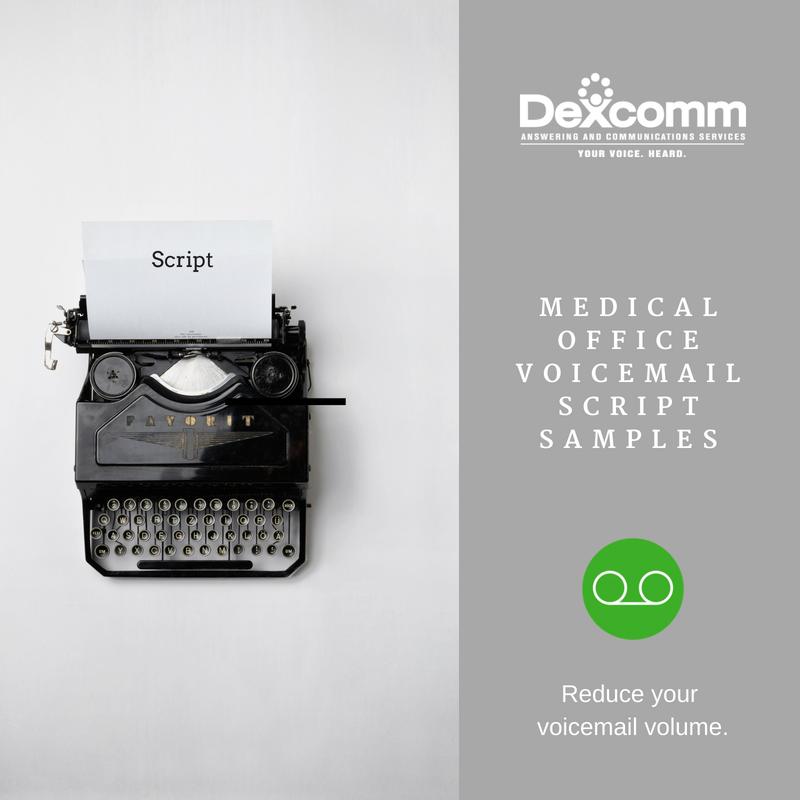 Voicemail script samples-2