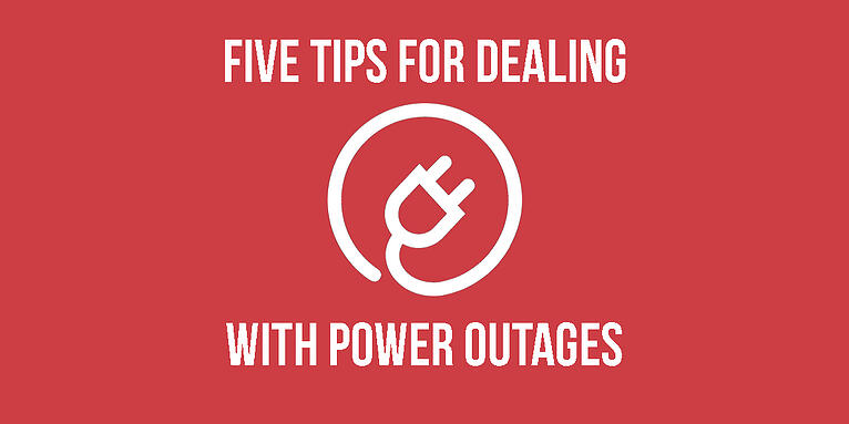 Five Tips to Dealing With Power Outages
