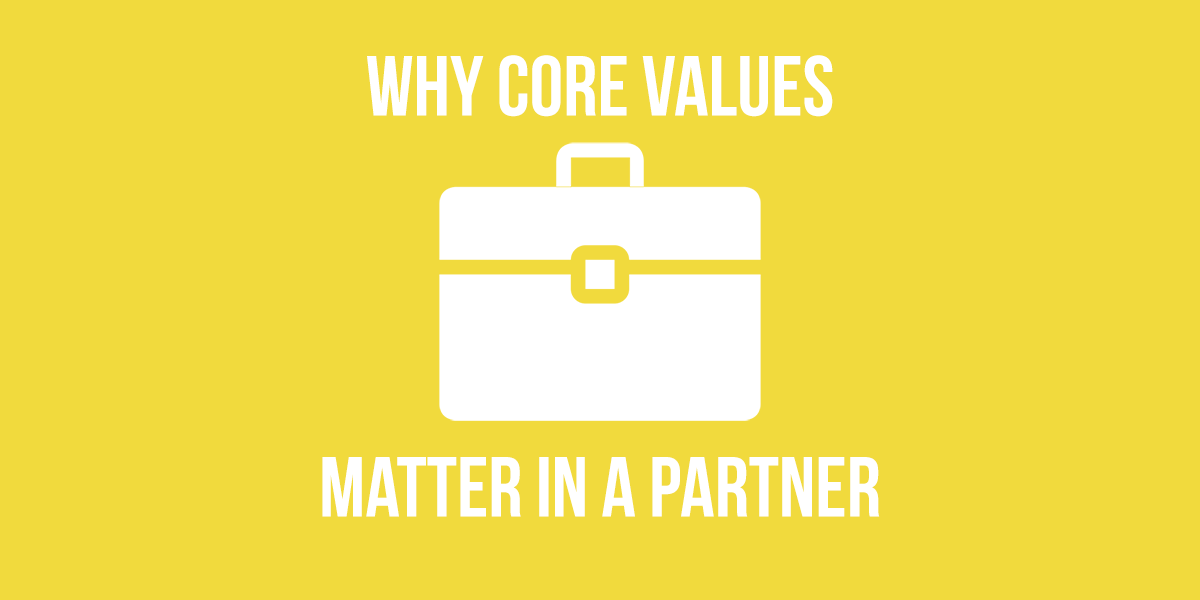 Why Core Values Matter In A Partner