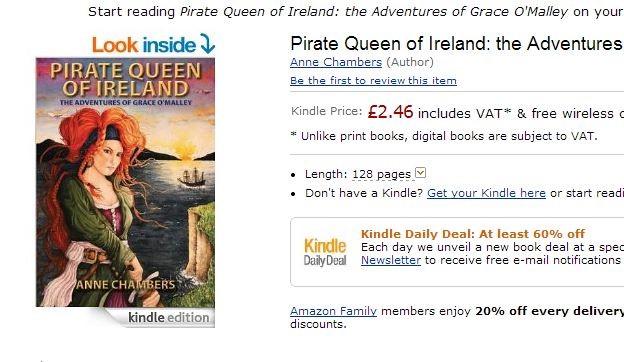 Pirate Queen of Ireland - Collins Pres