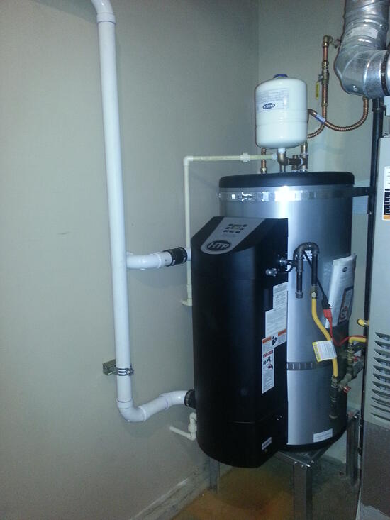 Furnace And Water Heater Sharing Exhaust Terry Love