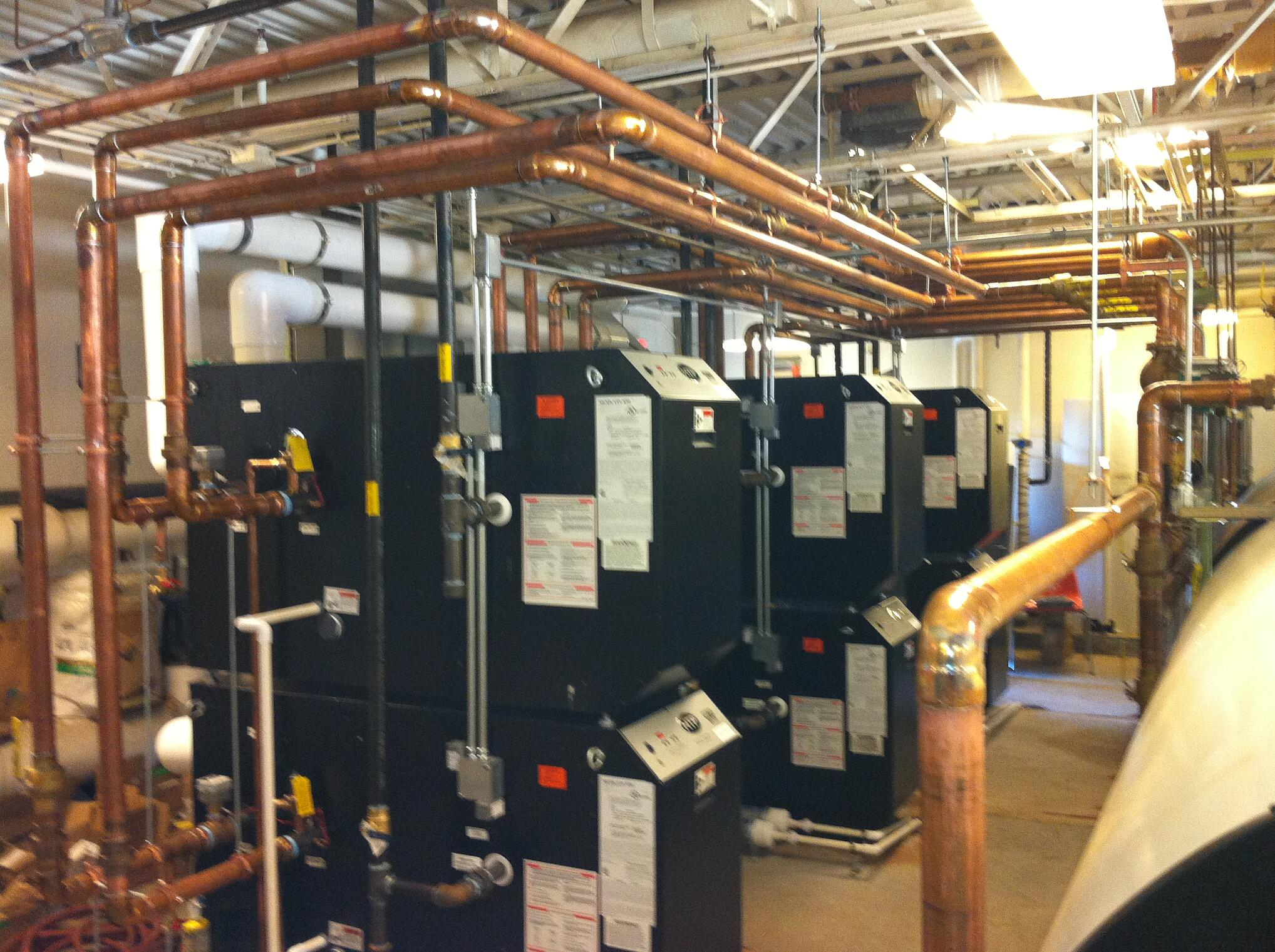 High Efficiency Mod Con Boiler Installation