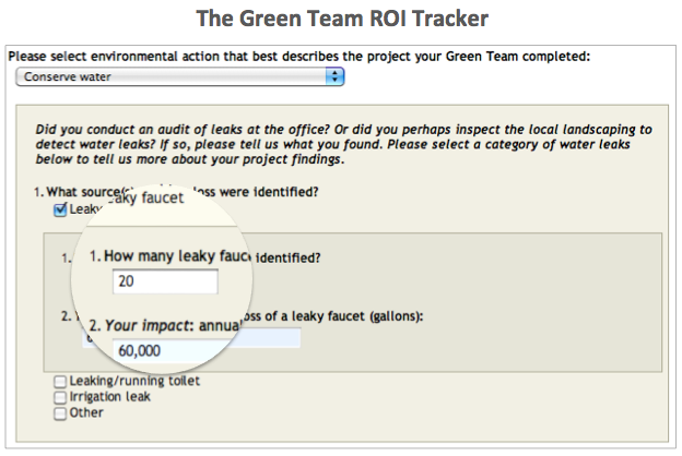 GT ROI Tracker Water