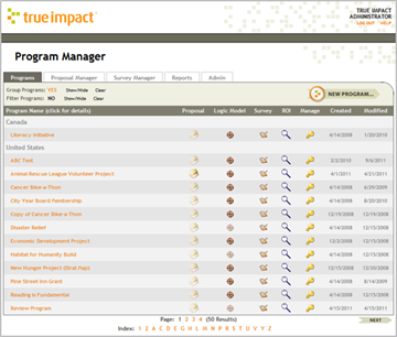 True Impact Program Manager