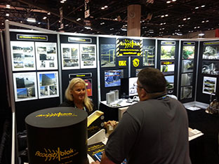 acoustiblok soundproofing power gen booth 2012 2