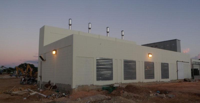 Quietfiber noise absorption material for Room design generator