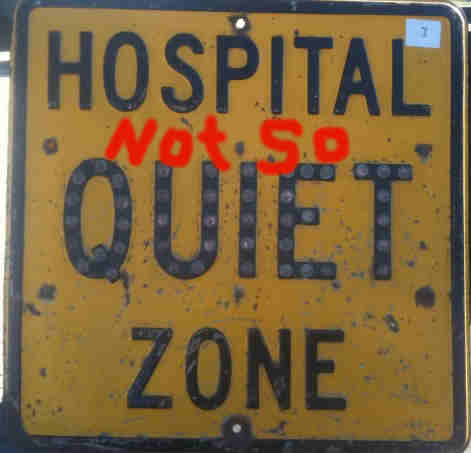 Hospital noise, health care facility noise, quiet hospital noise