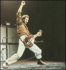 Pete Townshend performing