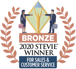 Stevie award, bronze stevie, customer service