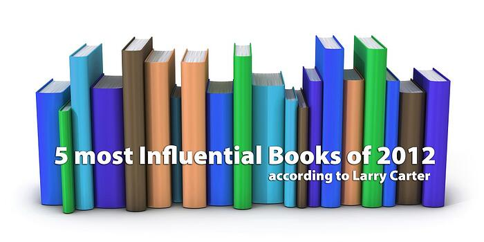 5 Most Influential Books of 2012
