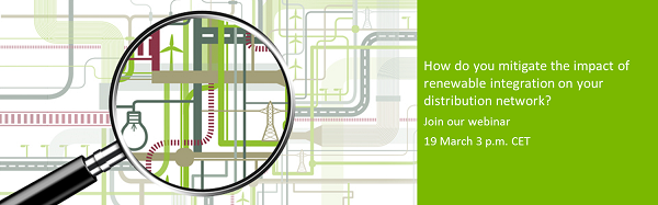 How do you mitigate the impact of renewable integration on your distribution network?