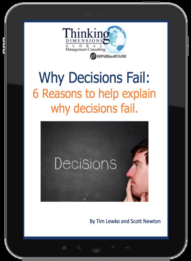 Why Decisions Fail Ebook