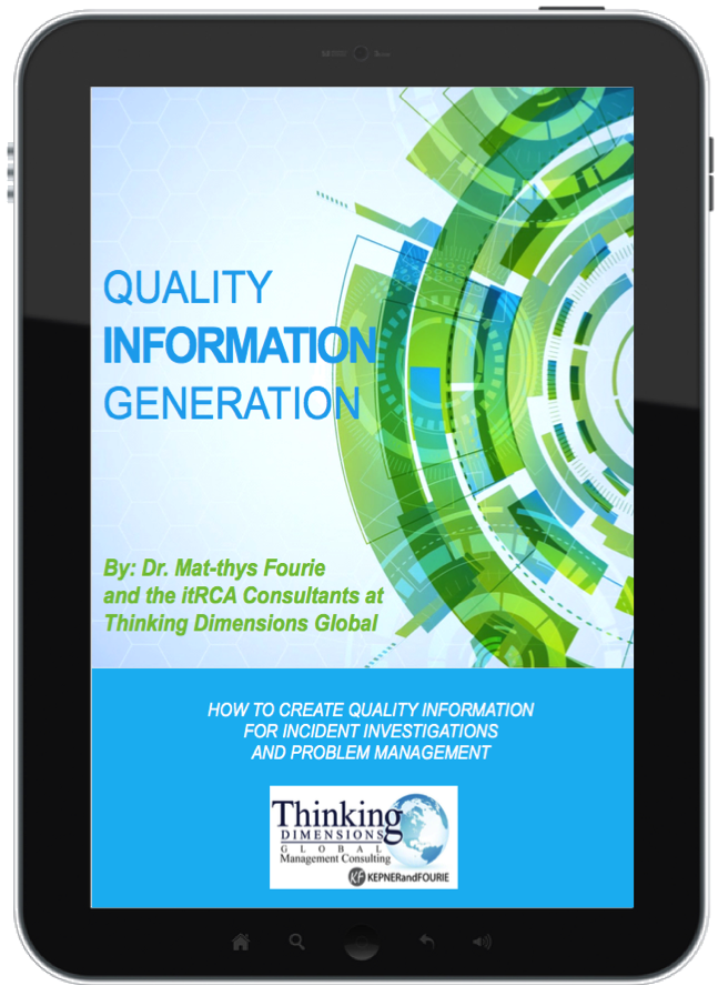 Quality Information Generation Ebook