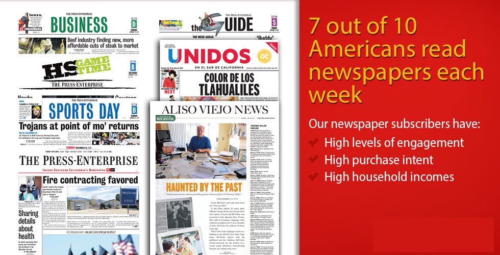 Freedom News Group Print Advertising Solutions