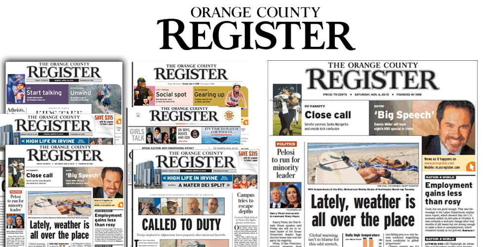 Orange County Register Media Kit