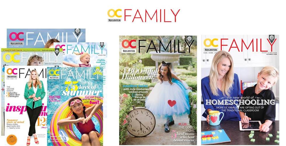 OC Family Magazine Media Kit