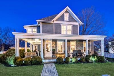 SOLD: 1890 Historic Farm House Restored and Renovated in Falls Church, VA