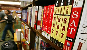 SAT Prep Books Picture