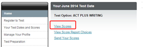 When does act essay scores come out