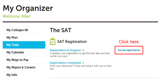 How do i find out my sat essay score