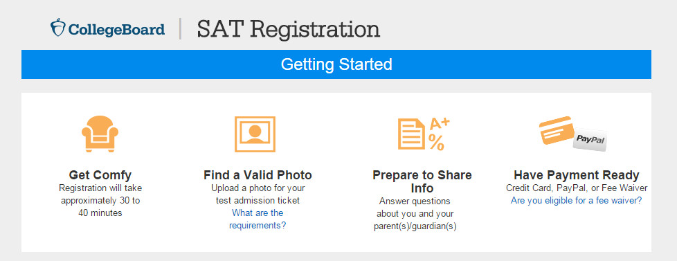 sat and registration guide The official guide what's on the test test taking strategies follow the directions in the tutorial above to include your advisor during the registration process about the ssat levels elementary level middle level upper level what is a flex test character skills snapshot help center.