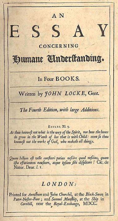 essay overview of locke