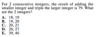 how to find consecutive odd integers