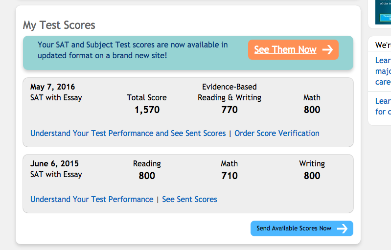 What is a good essay score for new sat