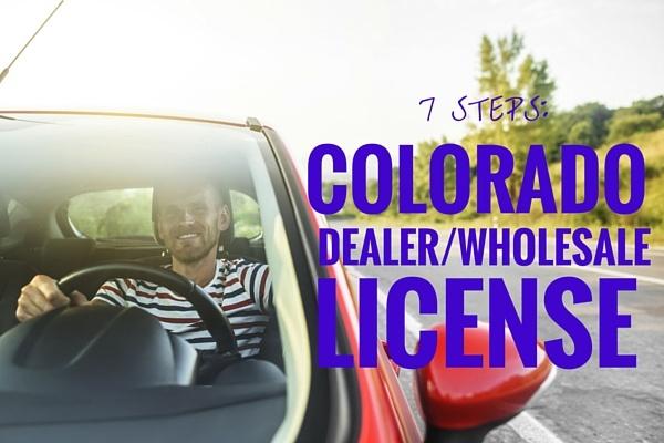 Wholesale Car Dealer License Requirements