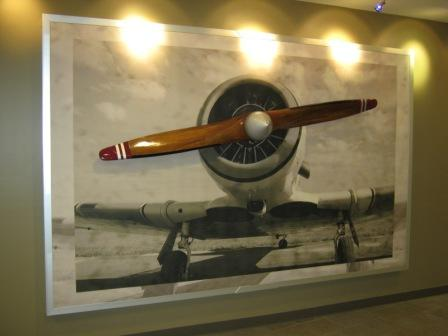 Airplane Propeller Wall Decor airplane wallpaper murals - wall murals you'll love