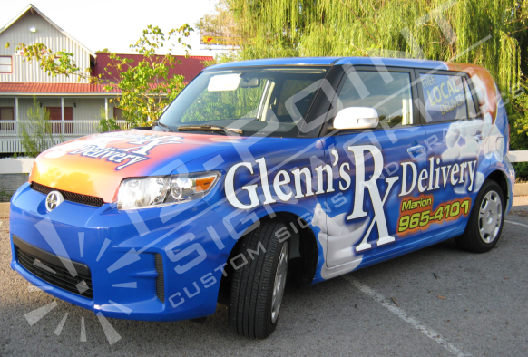 Car Wraps Amp Graphics 12 Point Signworks Franklin