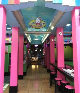 interior yogurt shop