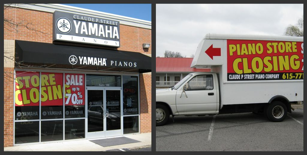 temporary window graphics and temporary vehicle advertising