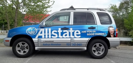 Clarksville Allstate Vehicle wrap, custom vehicle wrap, 12 point signworks