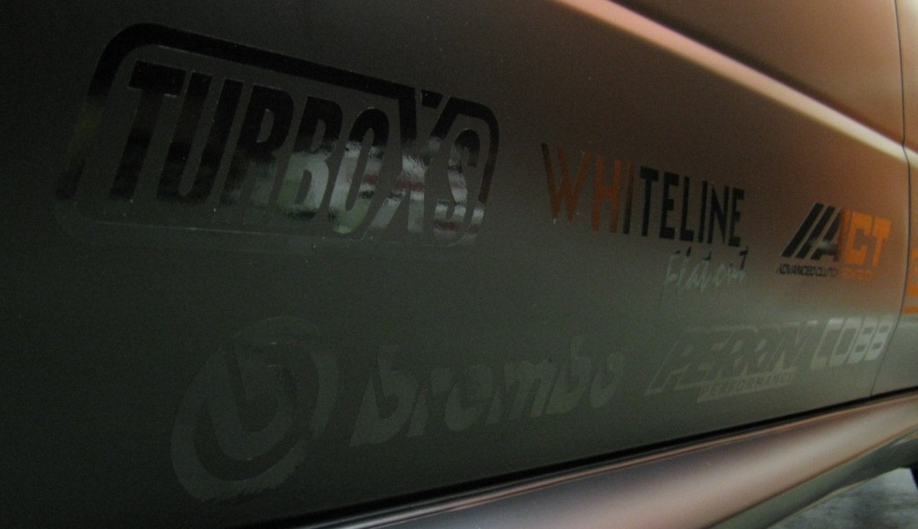 Combining Matte And Gloss Vehicle Graphics For A Custom Finish - Custom vinyl decals for black cars