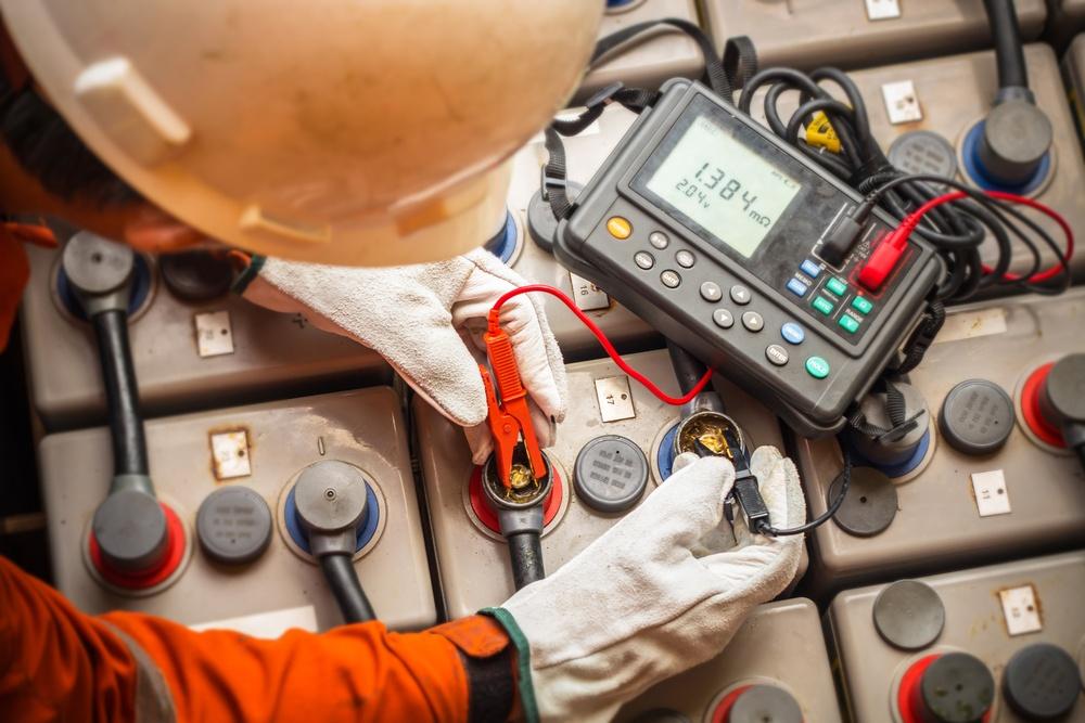 VRLA battery tester guide