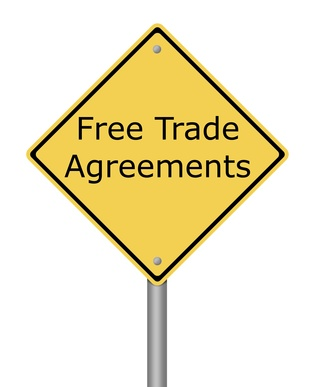 "international trade and free trade accords Part of the human rights law commons, and the international trade law  commons  free trade agreements are ""arrangements among two or more  countries."