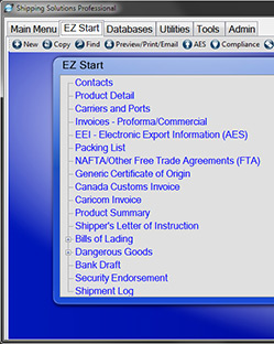 Shipping Solutions Export Documentation Software Demo Request