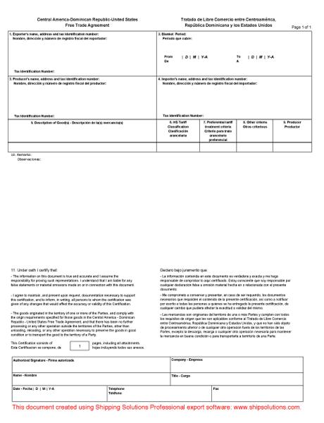 printable certificate of origin template .