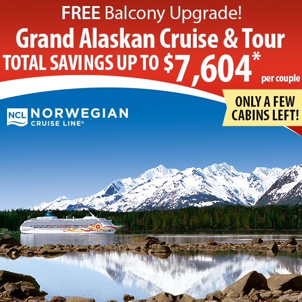 Free balcony upgrade on our grand alaskan cruise northbound for Balcony upgrade