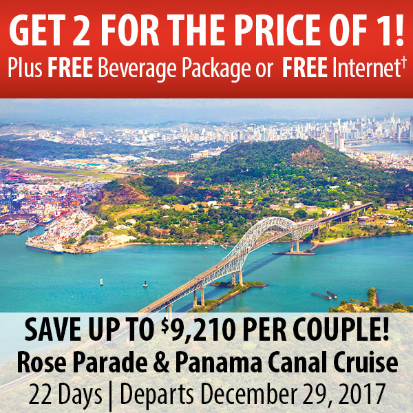 Rose Parade and Panama Canal