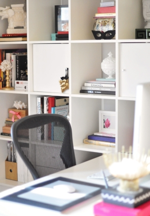 Desk Storage Area