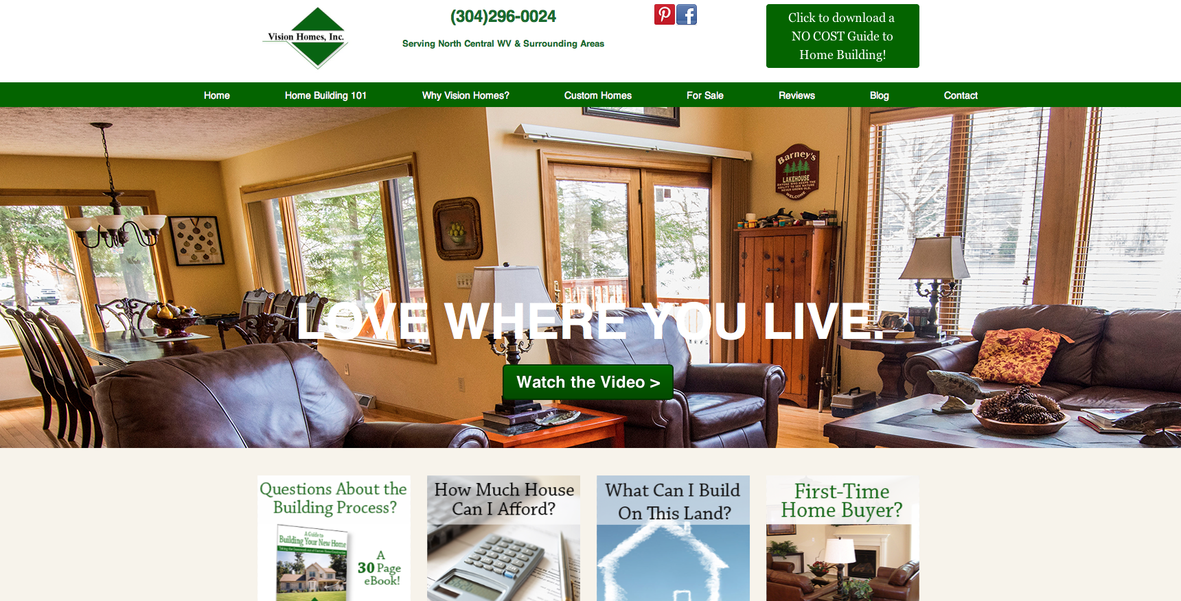Love Where You Live The New Vision Homes Website Is Live