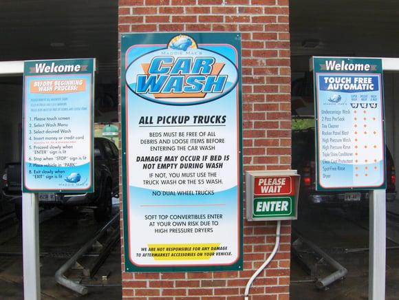 Awesome Rebranding Of A Car Wash In Acworth GA