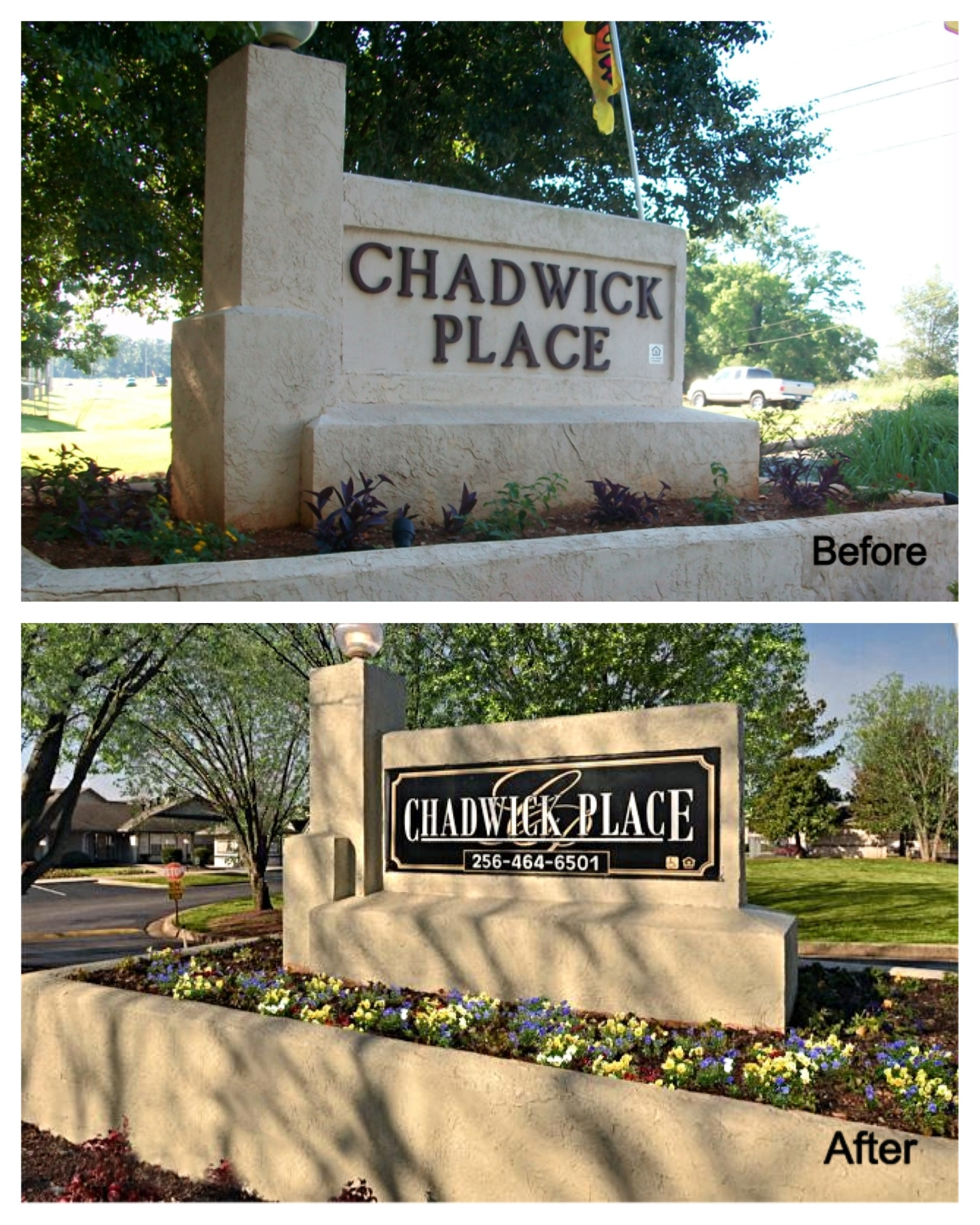 Chadwick Apartments: Do Your Subdivision Or Apartment Signs Match The Beauty Of