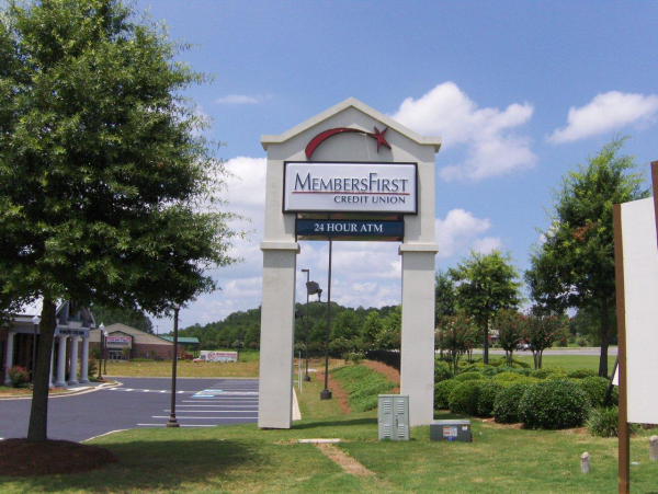 Logo Post and Panel Sign