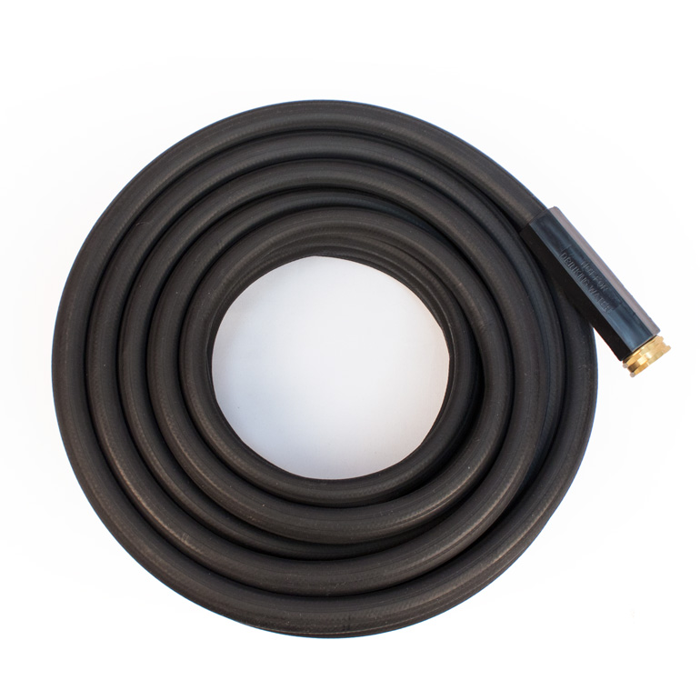 Black Rubber Garden Hose Industrial Duty Apex Hose