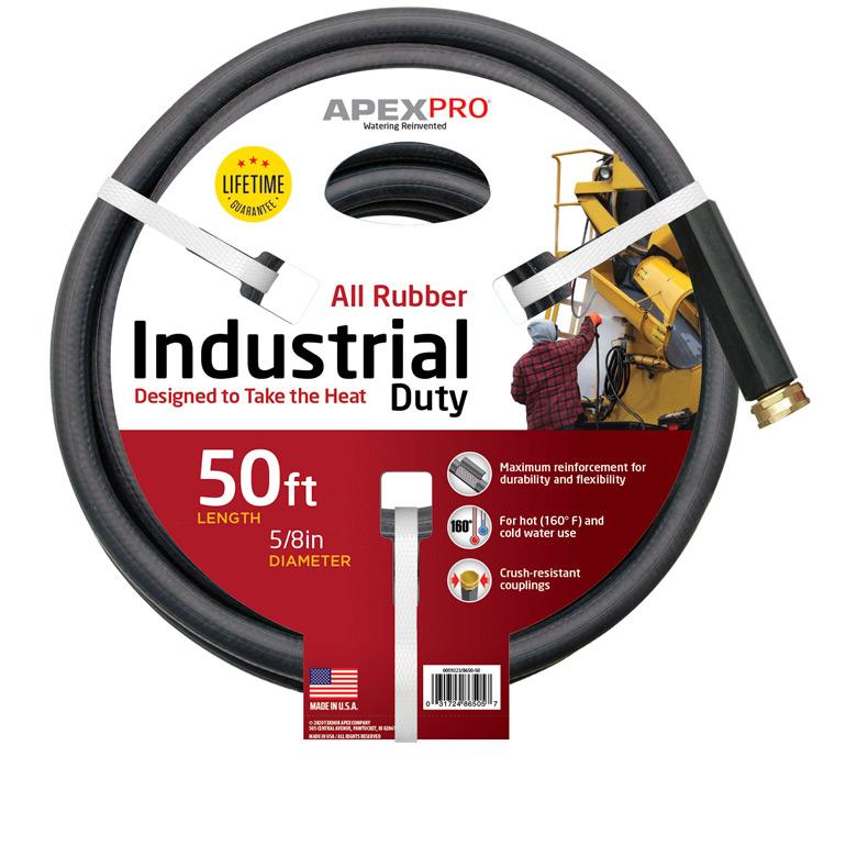 Black Rubber Garden Hose Industrial Duty Apex Hose
