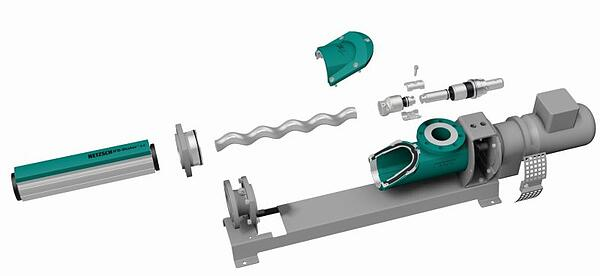Netzsche NEMO FSIP Progressing Cavity Pump